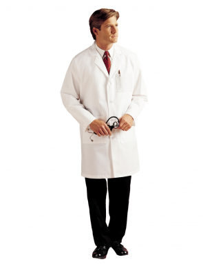 Men's Labcoat White 3132