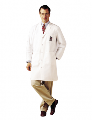 Men's Labcoat White 3139