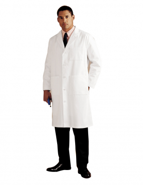 Men's Lab Coat White 3140