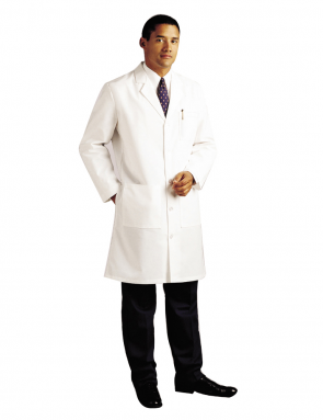 Men's Lab Coat 3145 White