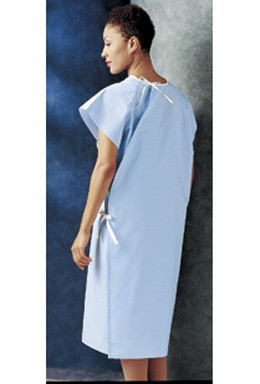 7119 Side Tie Patient Gown